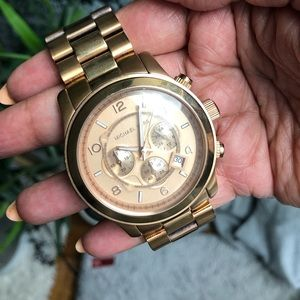 Michael Kors Watch — Rose Gold Oversized